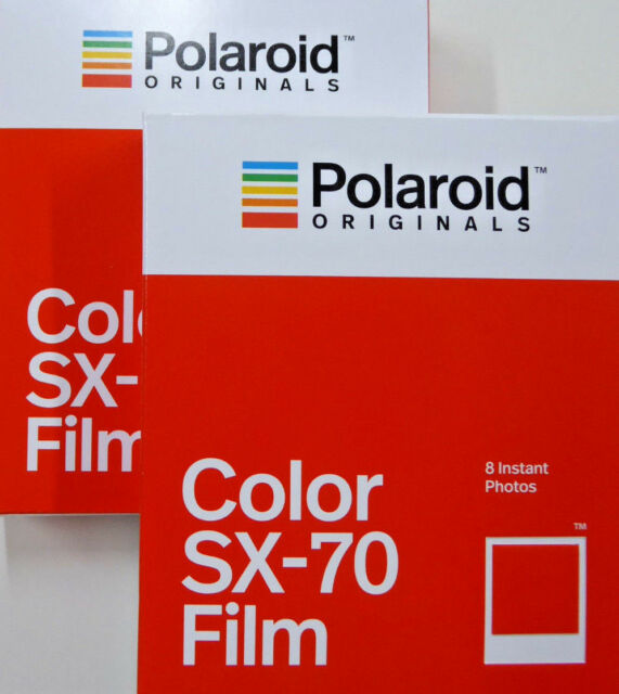 2x Polaroid SX70 Film color SX-70 neu 2x 8 Bilder Sofortbild instant