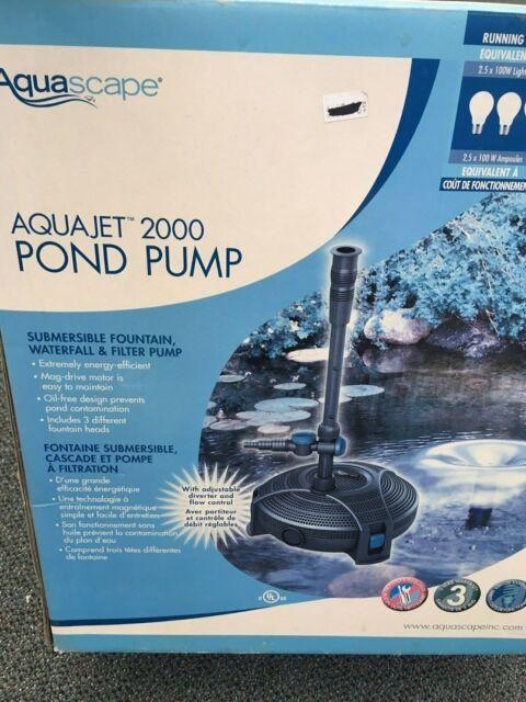 Hozelock Cascade Fontaine et Cascade pompe 1500