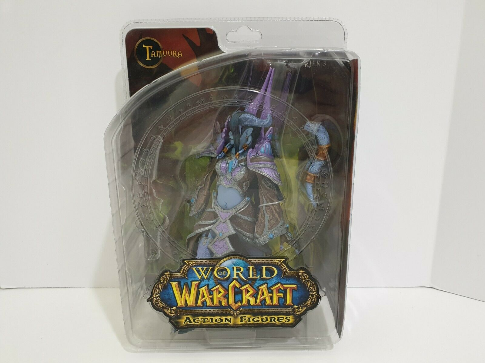 DC Comics World of Warcraft Series 3 Draenei Mage Tamuura Figure Action