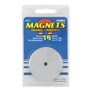 New Master Magnetic 7216 15lb 1 1 2 Quot Lift Round Magnet