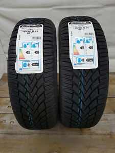 Continental-2-Stueck-Winter-Contact-TS-850-185-60-R14-82T-DOT-4814