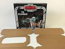 Nuevo Star Wars Imperio Contraataca Tie Bomber Caja + Insertos