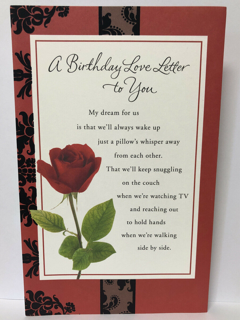 Happy Birthday Love Letter Relationship American Greetings Card