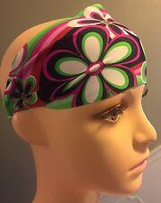 Hippie Flowers Wide Headband NWT