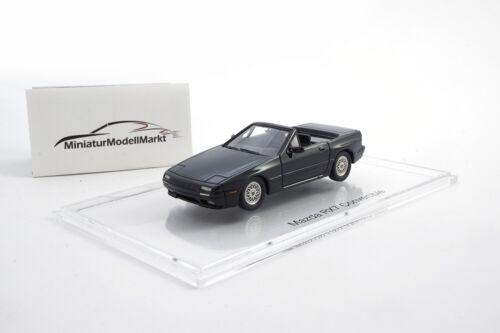 1988-1:43 #000018 L/'ADN MAZDA rx-7 Convertible Cabriolet-Noir