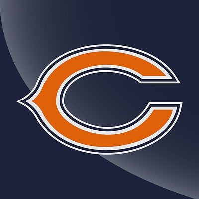 Chicago Bears Logo 3 Color Decal Sticker 5 Sizes 3 Inch To 7 Inch Ebay