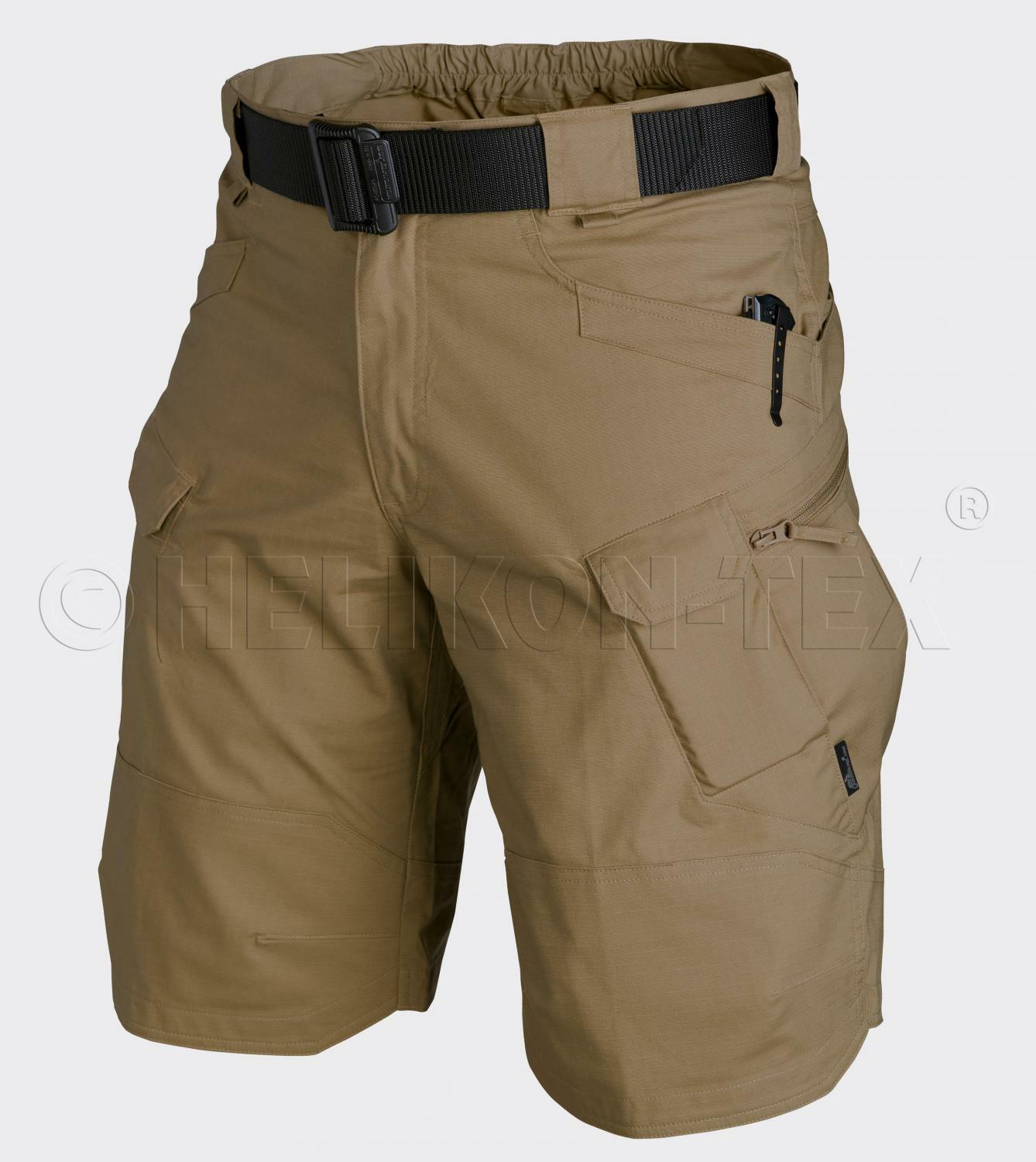 Helikon TEX UTK Urban Tactical Tactical Tactical Cargo Shorts Pantaloni Outdoor brevemente Coyote L/Large a72c33