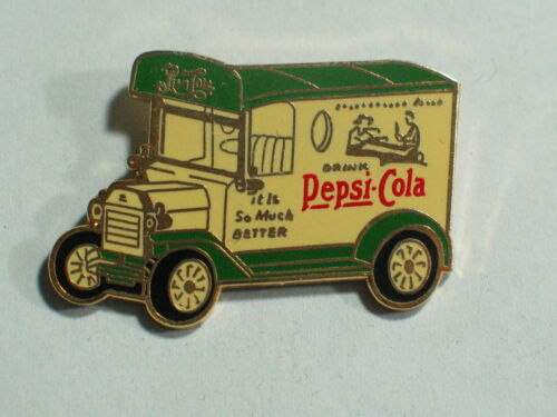 Pepsi Pin Model T Pepsi  Delivery Truck Lapel pin, #008 Drinks