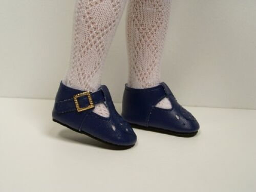 """NAVY BLUE T-Straps Doll Shoes Fits Tonner 14/"""" Betsy McCall DEBs"""