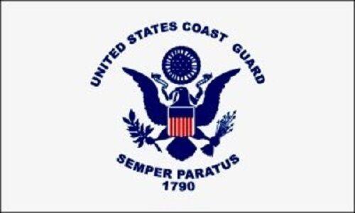 Grommet Nylon Made in U.S.A 3/' X 5/' Coast Guard Flag - Brand NEW