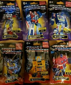 Lot of 6 NEW Transformers Limited Edition Mini Figures Collection ALL 6 Included