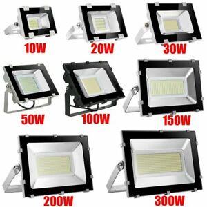 US-10-500Watt-LED-Flood-Light-Cool-White-Outdoor-Spotlight-Garden-Yard-Lamp