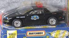 Matchbox Premiere Collection Camaro Kansas Highway Patrol  World Class