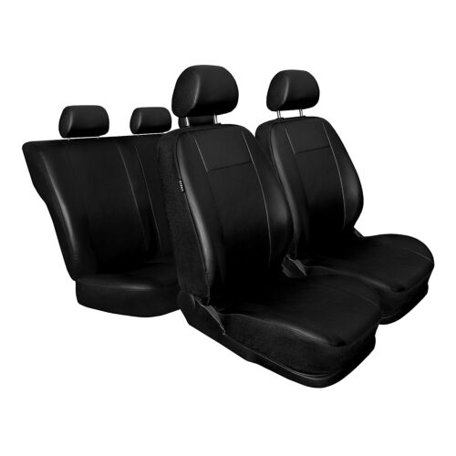 Skoda Superb Schwarz Universal Sitzbezüge Sitzbezug Auto Schonbezüge COMFORT