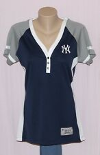 New York Yankees Womens League Diva Jersey T-Shirt LRG - MLB Majestic