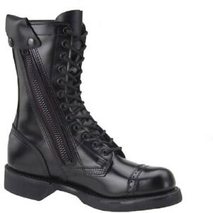 2e62fd60614 Details about CORCORAN JUMP BOOTS 10 INCH SIDE ZIPPER ALL LEATHER MADE IN  USA SIZES 7 TO 14