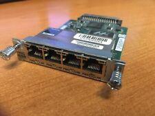 Cisco Hwic-4esw 4 Port Ethernet Switch Interface Card Module
