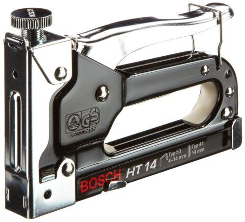 Bosch Grapadora Profesional Manual de Acero HT 14 Fijación Rapida Con Regulacion