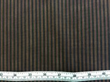 Paintbush Studio - Graphix Range - Black + Brown Stripe - 100% Cotton Fabric