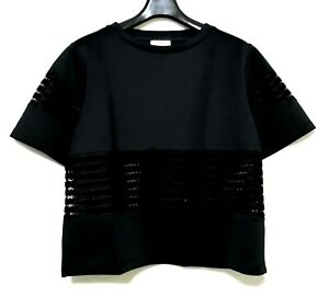 Max-amp-Co-Neoprene-Black-Top-With-Cutout-Details