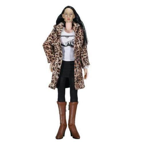 """1//6 Female Coat Pants Clothes for 12/"""" Phicen Sideshow Dragon Action Figures"""
