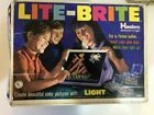 Vintage 1973 Hasbro Lite Bright Includes 400 Pegs 24 Templates & It Works Lot5