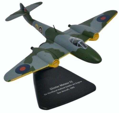 OXFORD AVIATION AC068 - 1/72 GLOSTER METEOR F2 DH HALFORD GOBLIN JET TEST