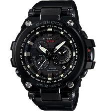 Casio Men's G-Shock MTG Metal Solar Twisted Black Steel  Watch MTGS1000BD-1A