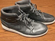item 1 Nike 629151-007 Air Jordan 1 Mid Nouveau Cool Grey White Gum Bottom  Men s Sz 9.5 -Nike 629151-007 Air Jordan 1 Mid Nouveau Cool Grey White Gum  Bottom ... d857118b4