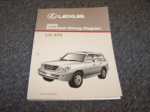 [SCHEMATICS_49CH]  2005 Lexus LX470 SUV Factory Original Electrical Wiring Diagram Manual 4.7L  V8 | eBay | Lexus Lx 470 Wiring Diagram |  | eBay