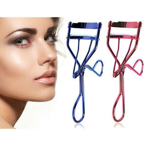 Eyelash-Curler-w-5-Refill-Pads-Hot-New-Colors-Purple-Pink-SELECT-COLOR
