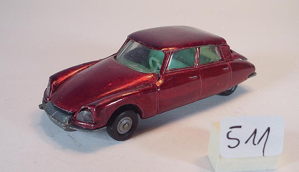Majorette 1 65 Nr. 213b 213b 213b Citroen DS 21 Limousine redmetallic Nr. 2 274c8a