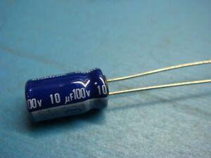 5 x .10uF 100nf Multilayer Ceramic Capacitor 50v  50 v .10 uf Cap 10/% Radial