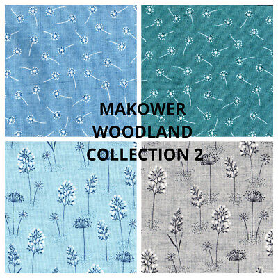 fat quarters Spraytime Makower Fabric,100/% cotton choice of colours