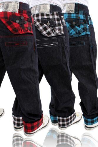 À Bleu Money Jeans Dirty Écossais Carreaux wpUqH4B