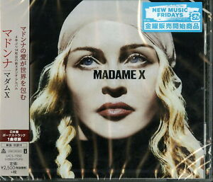 MADONNA-MADAME-X-JAPAN-CD-BONUS-TRACK-F56