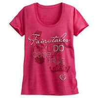 Disney Store Women Princess Icons T Shirt Tee Top Size S M