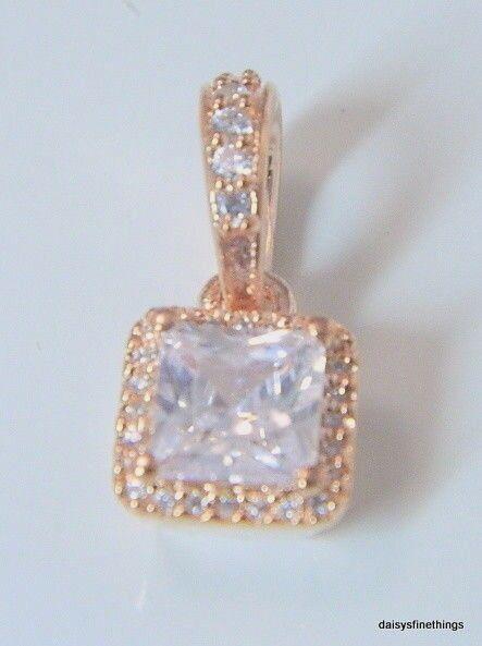 eb79a35df Authentic Timeless Elegance Pendant PANDORA Rose & Clear CZ 380378CZ for  sale online | eBay