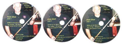 FREE SHIPPING DVD/'s /& Bobble Ball Chalk Cue Case New McDermott Markue Kit