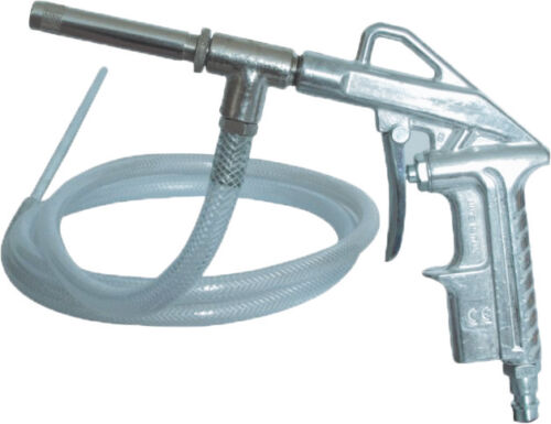 NW7.2 Druckluft Sandstrahlpistole GAV Sandstrahlgerät Sandstrahler mit Schlauch