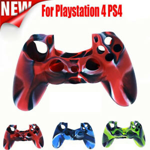 Silicone-Rubber-Soft-Case-Skin-Grip-Cover-For-Sony-Playstation-4-PS4-Controller