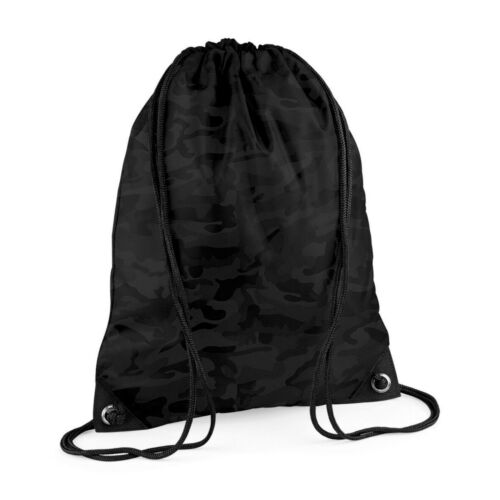 Camouflage Camo Drawstring Bag School Book Sport Gym Swim PE Dance Shoe Sack Bag