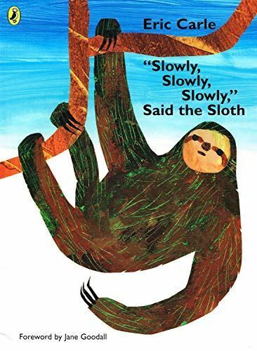 "Very Good, ""Slowly, Slowly, Slowly"", said the Sloth, Carle, Eric, Paperback"