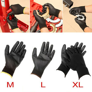 24-paires-Gants-de-travail-mecanicien-palme-M-L-XL-Nylon-Pu-homme-unisexe