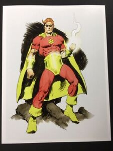 IT-039-S-HYPERION-Golden-Age-Superhero-Art-SIGNED-Print-by-Mike-Hoffman