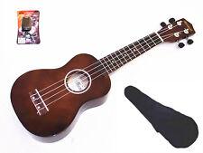 "Woodnote 21"" Soprano Ukulele-Rosewood Fingerboard /Bridge+Bag+Free Clip-On Tuner"