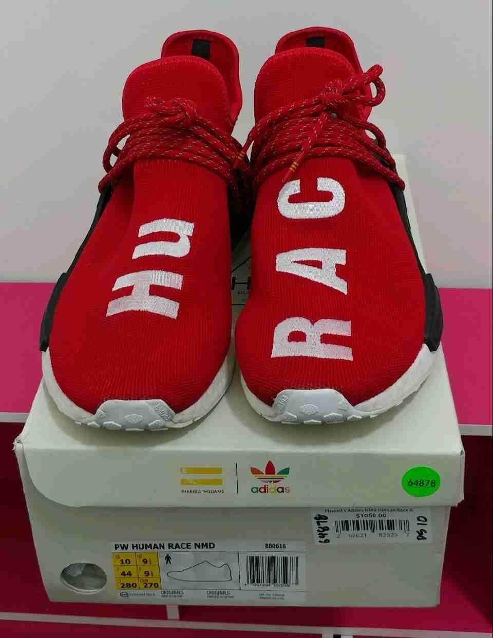 PW Human Race NMD Red size 10. Pharrell Williams Adidas human race