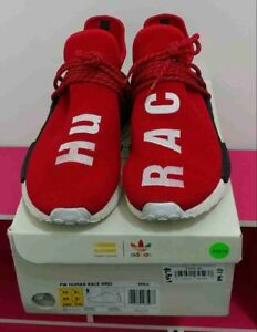 on sale b7798 e828e Details about PW Human Race NMD Red size 10. Pharrell Williams Adidas human  race