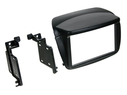 2-DIN Radioblende Fiat Doblo schwarz Opel Combo