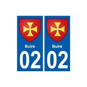 2019 Nouveau Style 02 Buire Ville Autocollant Plaque Sticker